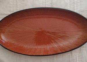 Pier 1  oval serving platter